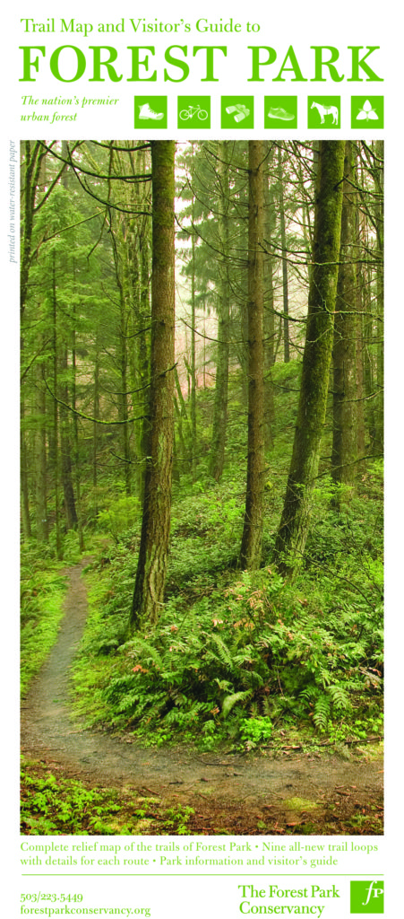 Northern hardwood habitats in the southern blue ridge ecoregion of. Trail Map Visitor S Guide Forest Park Conservancy