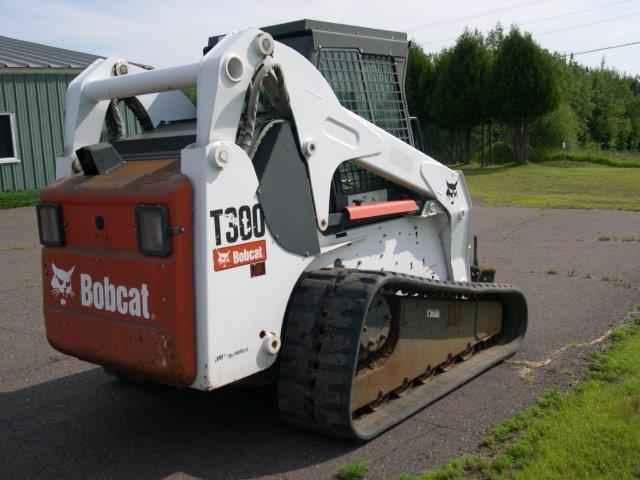 Red Pine Equipment Bobcat T300 Skid Steer Sold