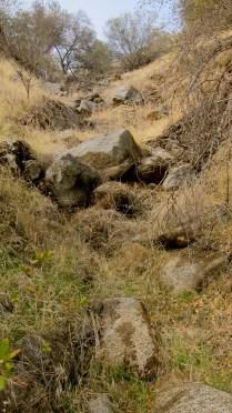 dried up ephemeral stream 1