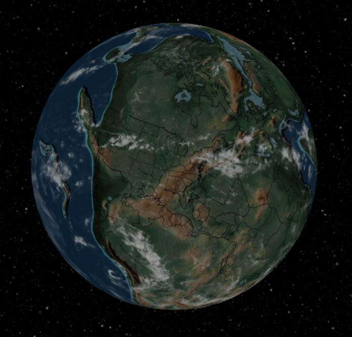 240 million years ago - Forestrypedia