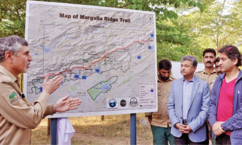 The 44 KM Hiking Trail between Margalla Hills National Park and Haripur is Pakistan's Longest Ever