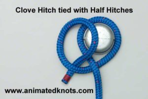 clove_hitch_using_half_hitches