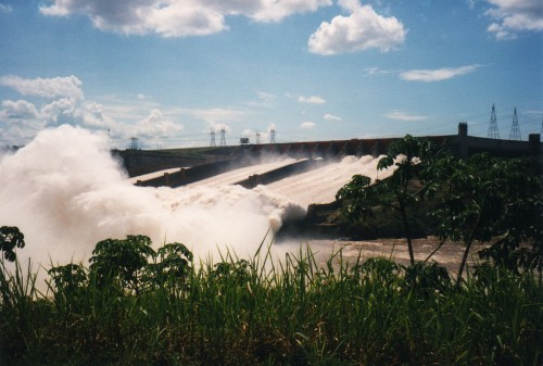 80% of Brazil's electricity is generated by hydropower. David Holt
