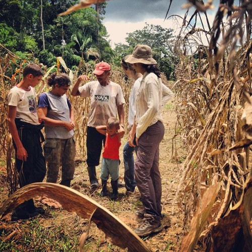 Investigadores del CIFOR entrevistaron a 240 familias de pequeños productores en Acre sobre su uso de la tierra y sus medios de vida como parte del Estudio Comparativo Global de CIFOR sobre REDD+. Fotografía de Kate Evans/CIFOR
