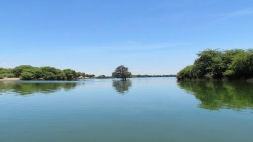 La Laguna Ñapique en Sechura, Piura, Perú. Fotografía cortesía de Frank Suárez.