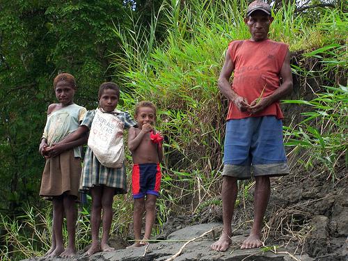 Masyarakat Kwerba di Papua. Nining Liswanti/CIFOR