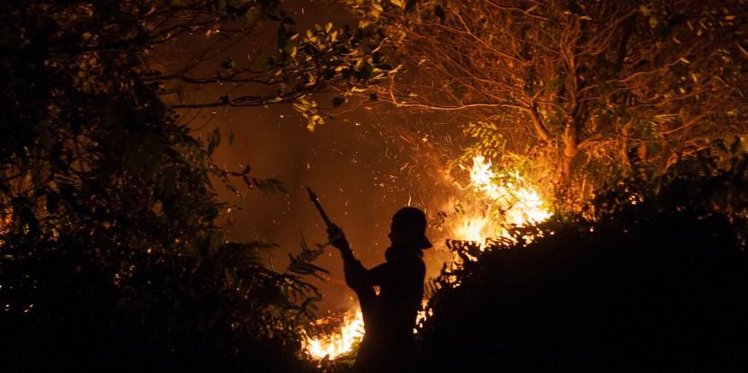 L'Indonésie en flammes
