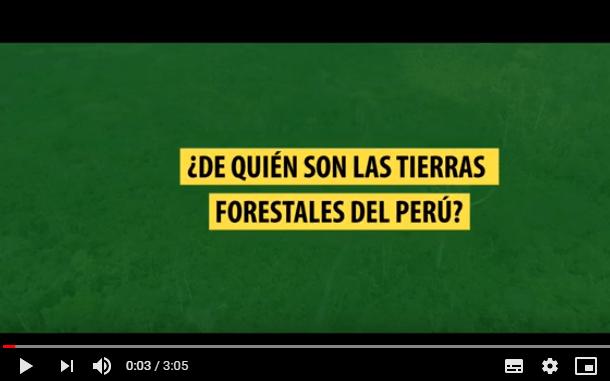 Conflictos, traslapes y otros desafíos para la titulación de tierras forestales comunales en Perú