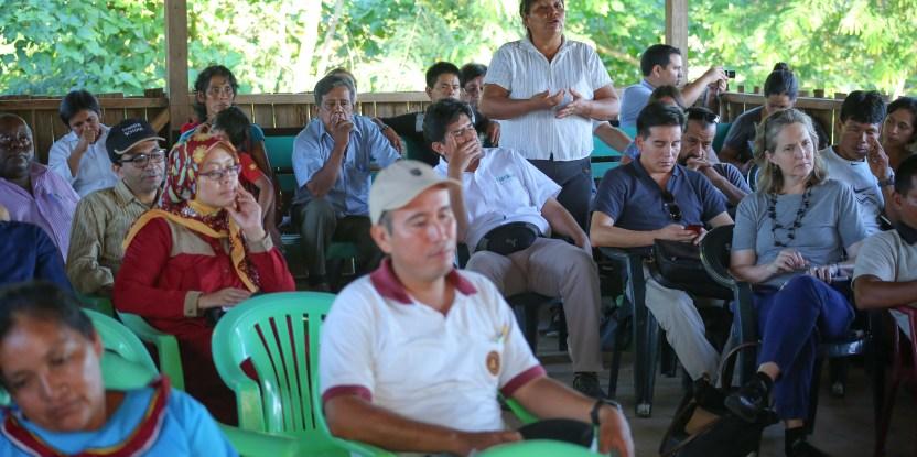 multistakeholder forum, Tres Islas native community, MSF