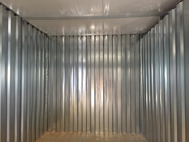 Photo of interior climate controlled storage units