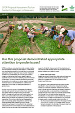 CIFOR-Proposal-Assessment-Tool-on-Gender-for-Managers-or-Reviewers