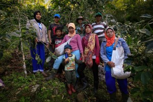In smallholder farmers' households (here coffee farmers in Sulawesi, Indonesia), there are often pronounced gender and inter-generational inequities in access to and control over assets that shape women's and men's participation in and benefits from value chain development. Photo: Yusuf Ahmad/ICRAF