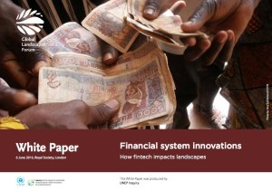 White Paper on financial technology for Global Landscapes Forum in London 2016