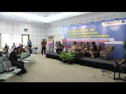 Bioenergy in Indonesia: An international workshop