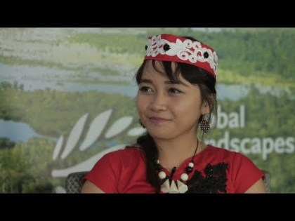 Activist Emmanuela Shinta discusses tackling peatland issues on a local level