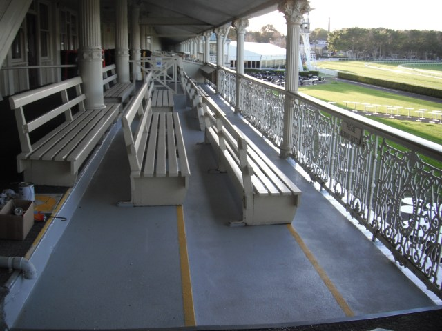 Randwick Race Course, Tremco Trafficable waterproofing.