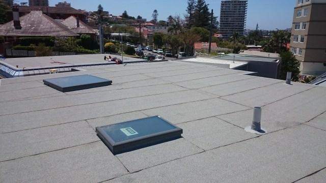Flat Roof Waterproofing Fairlight.