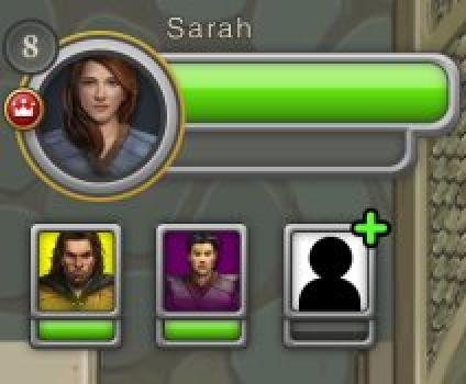 Sarah's the name, magic's the game.