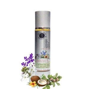 Natural Eczema Psoriasis Dermatitis dry Rash Rough Itching Peeling Relief Healing Oil