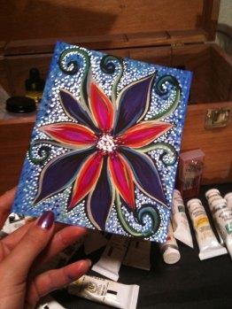 Designers Gouache and Pearlescent Liquid Acrylic