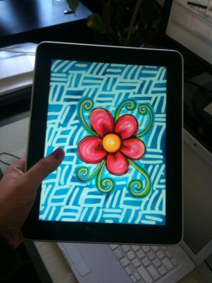 Love the SketchBook Pro app for only $7.99. (Less than the cost of pen and paper!)