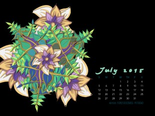 July2015FlowerCalendarMitraCline19