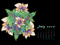 July2015FlowerCalendarMitraCline9