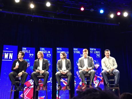 NYR FAN FORUM (Photos and video courtesy of author)