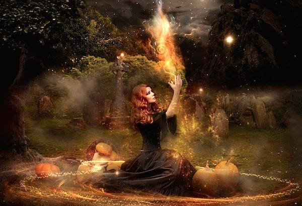 spiritual energy of halloween