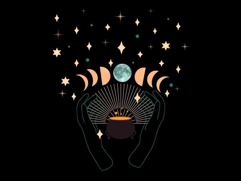 halloween blue moon ritual 2020