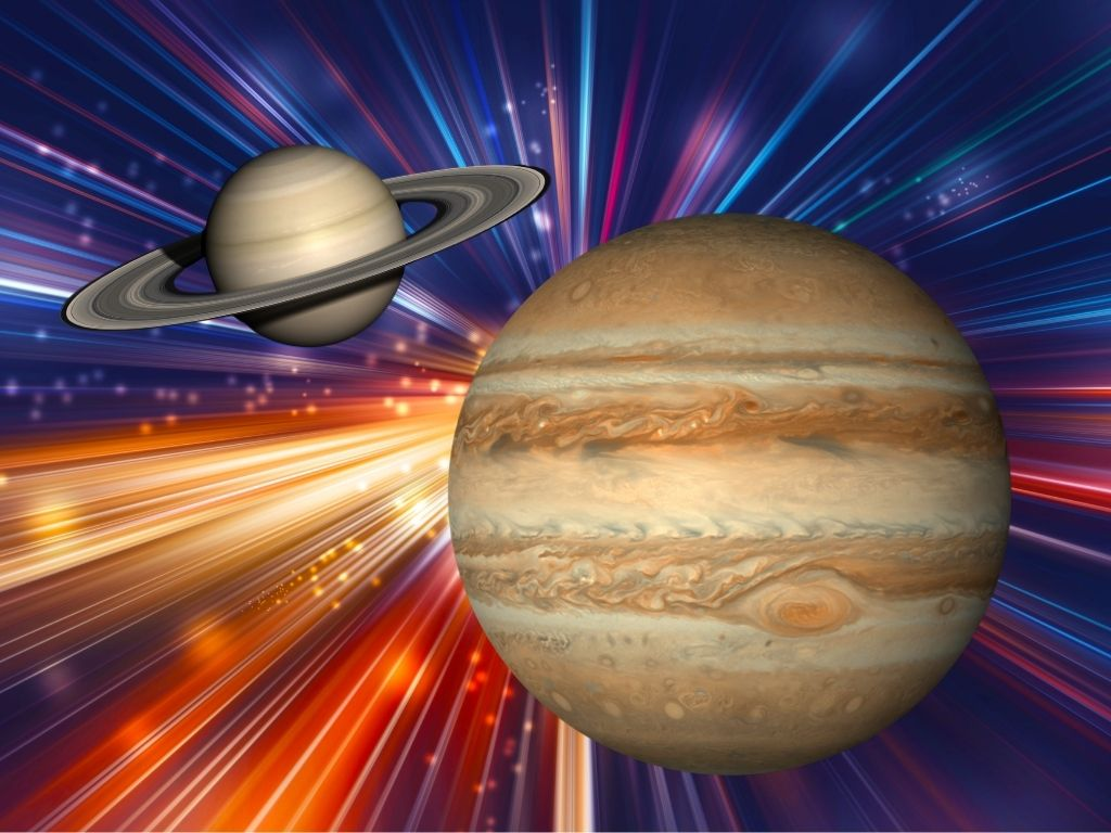The Great Conjunction: Jupiter and Saturn Align in Aquarius December 2020 -  Forever Conscious