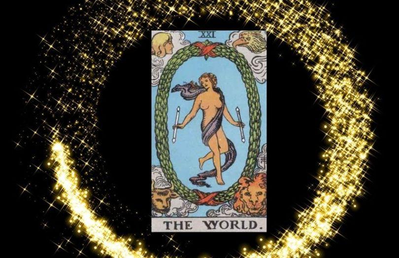 the world tarot