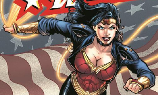 New Wonder Woman Look
