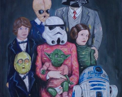 Star Wars Family Portrait