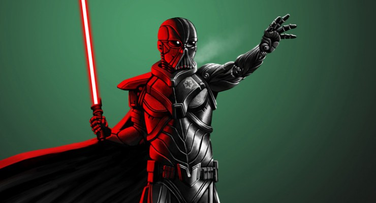 darth vader reimagined redesigned