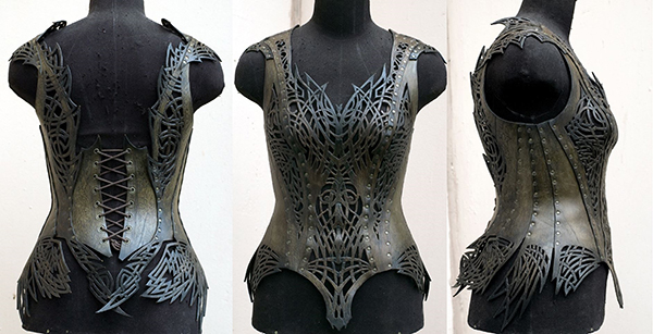 Armor corsets featured