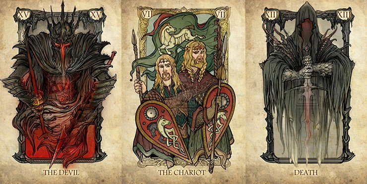Lord of the Rings Tarot - featured