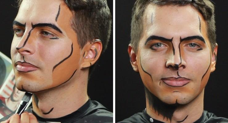 Superman makeup tutorial featured image