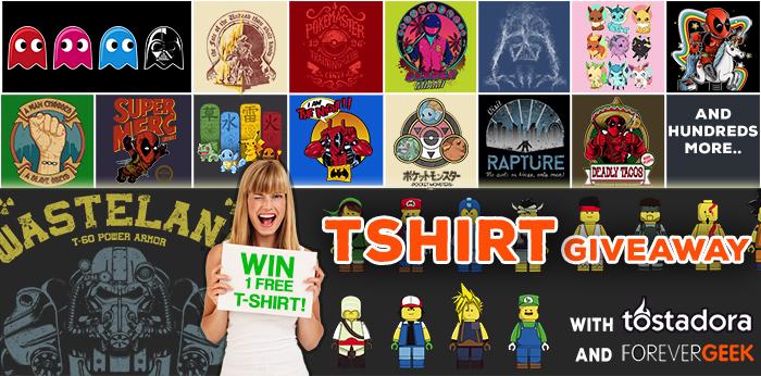geek t-shirt giveaway