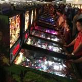 Arcade Expo 4.0 pinball row 1