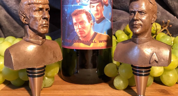 Star Trek wine stoppers