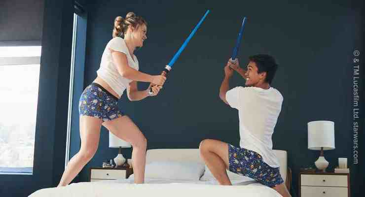 geeky underwear Star Wars