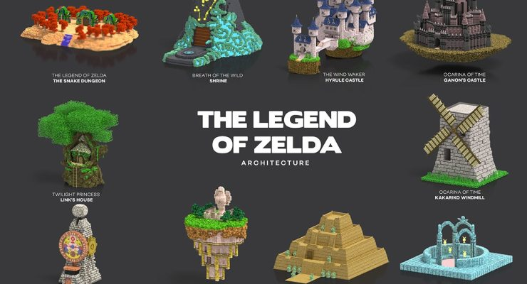 video game architecture zelda
