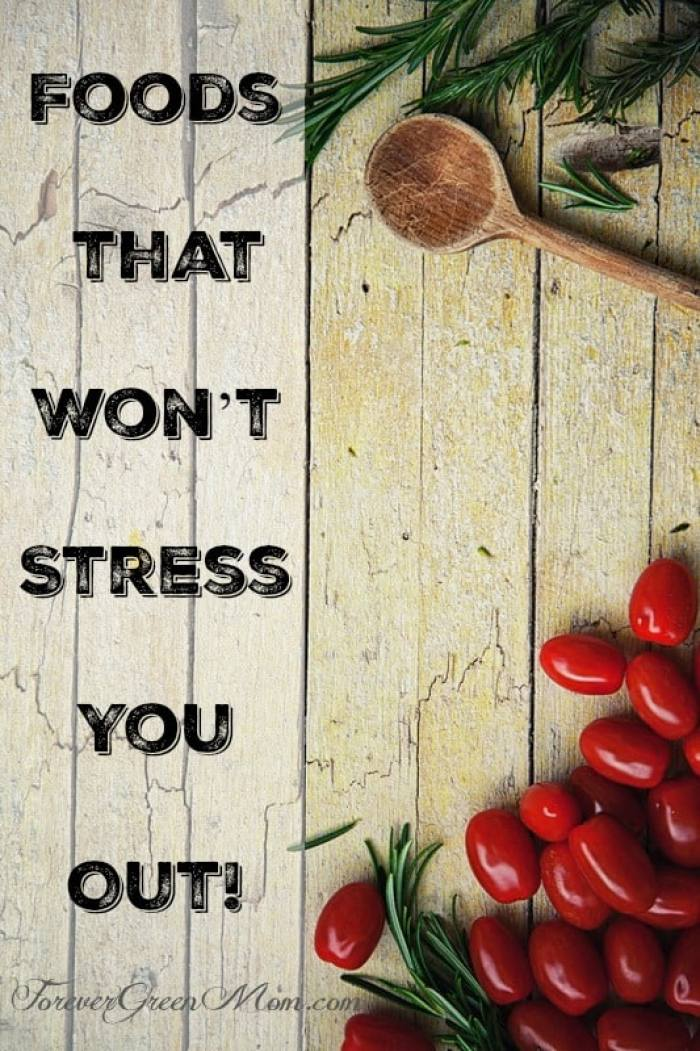 Finding Foods that Won't Stress You Out