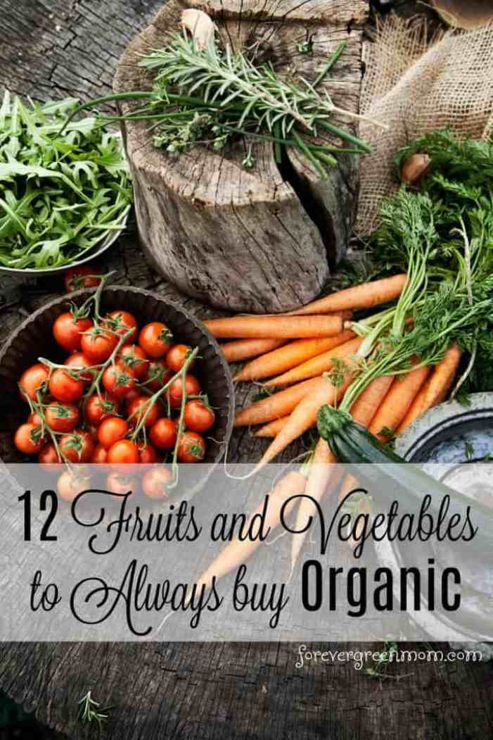 12 Vegetables To Plant In August Zone 9: 12 Fruits And Vegetables To Always Buy Organic Plus 5 More