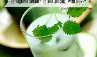 Springtime Smoothies and Juices…with HONEY!