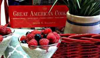 Chia Seed Pudding ~ ~ 4th of July Style! #Recipe