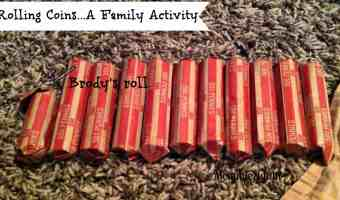 Rolling Coins…A Family Activity