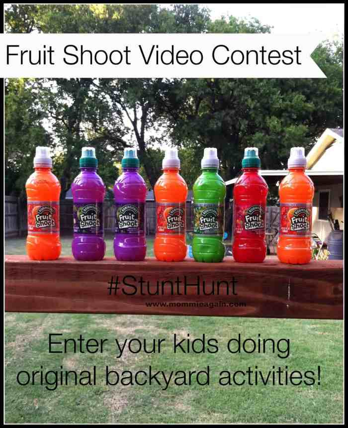FUN Fruit Shoot Have a Ball Stunt Hunt Contest for Your Kids to Enter! #StuntHunt