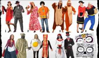 Hilarious Halloween Costumes for Couples